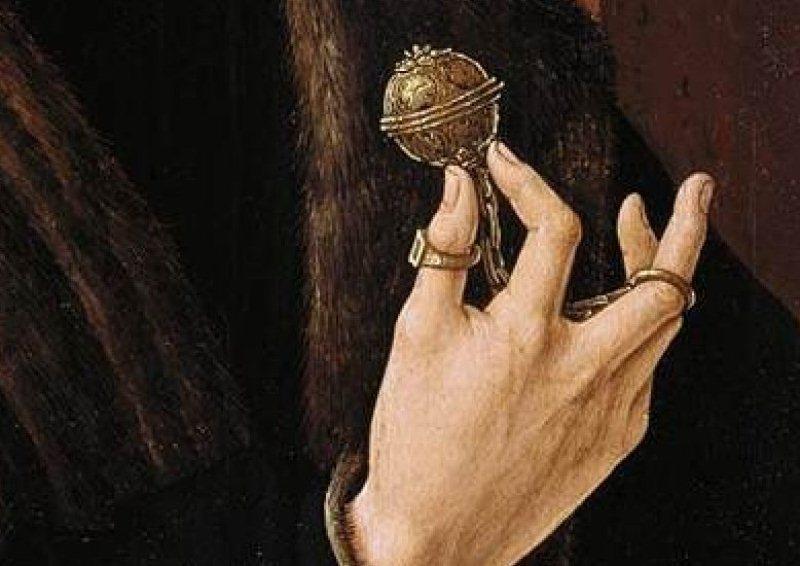 Las pomas o pomanders otros objetos que desprenden perfume en el medioevo